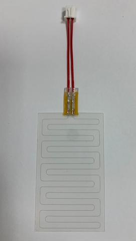 Fine Wire Flat Heater for Connector, 66x33 mm