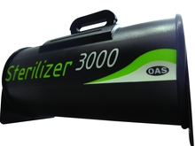 Portable intelligent ozone cleaner