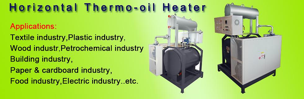 Thermo oil heater