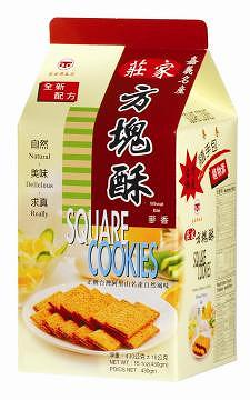 CHUANG'S SQUARE COOKIES