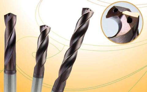 Solid Carbide Drills For CNC - Internal Coolant - 3D.