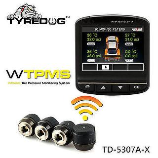 External TPMS with DVR