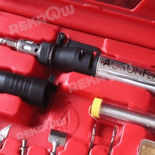 Butane micro gas soldering iron kit