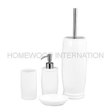 Taiwan Bathroom Accessories Ceramic Bathroom Set