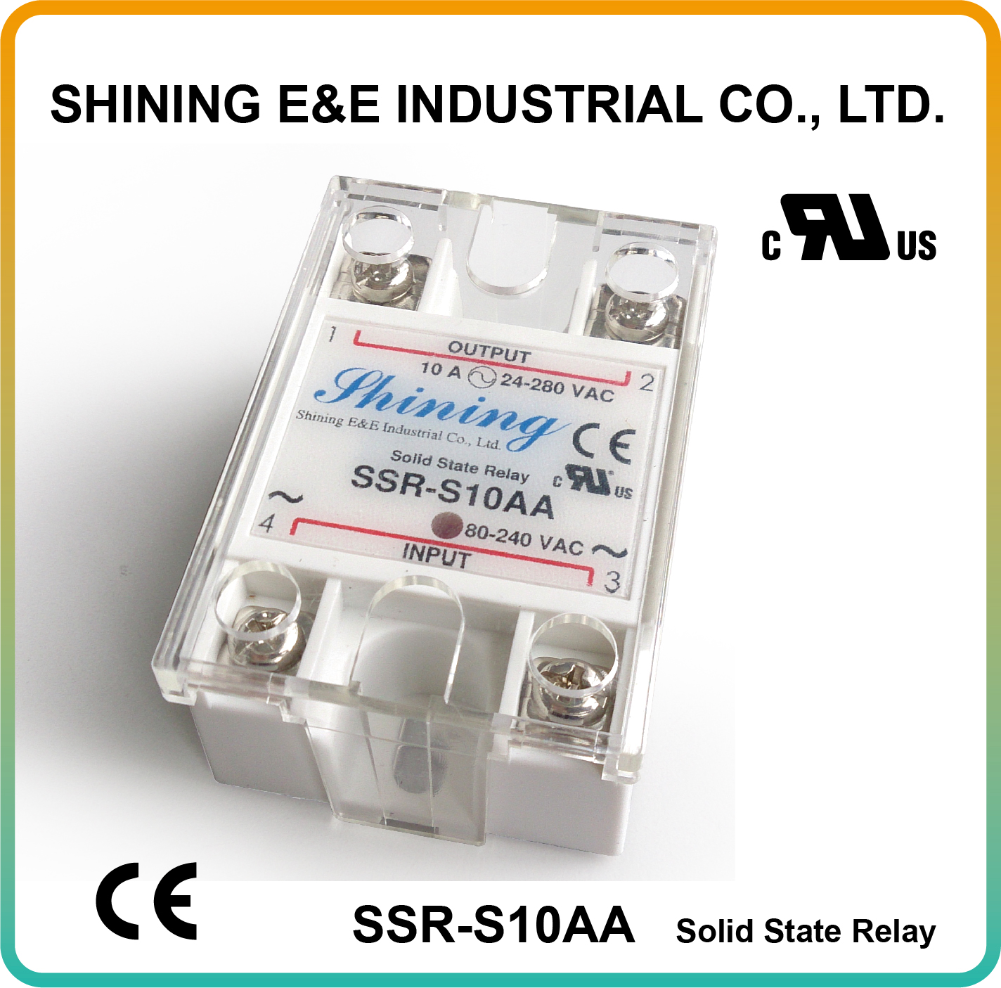 Taiwan Ssr S10aa Single Phase 10amp Ac To Solid State Relays Relay For