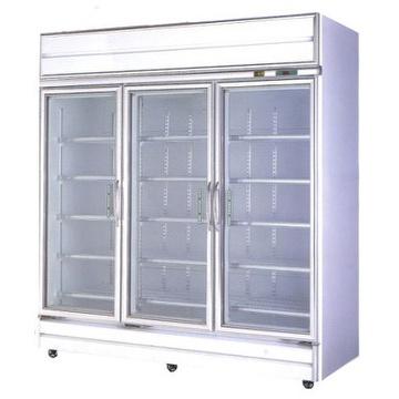 Taiwan Commercial Fridge Glass Door Commercial Refrigeratortriple