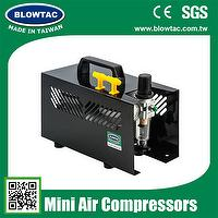 DOBLE CILINDRO MINI AIR COMPRESSOR CON TAPA