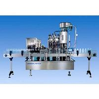 Suspensory filling & capping machine