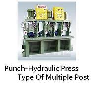 Punch-Hydraulic Press Type Of Multiple Post