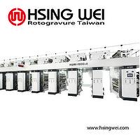 Rotogravure Machine in 8 Colors