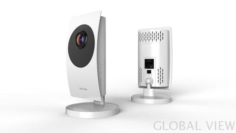 FHD 1080P Global View Z-Wave IP Camera