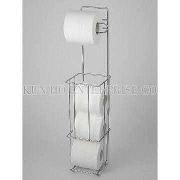 Taiwan toilet roll holder toilet roll storage with wall for Loo roll storage