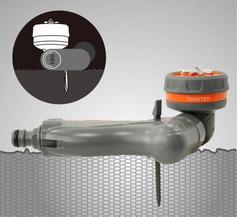 Taiwan 2-in-1 Spray Nozzle & Water Sprinkler | GREENLAWN