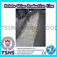2014 Latest Continuity Stable Industry Tapioca Chips Machine