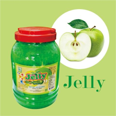 Green Apple Flavoured Coconut Jelly