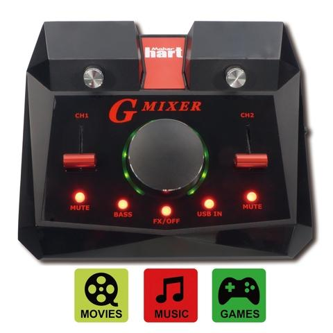 Maker hart Gmixer surround sound for playing games