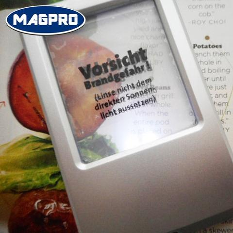 《Magpro》portable wallet lens led lighted magnifier