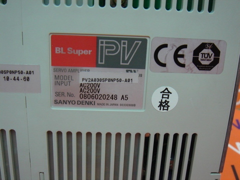 SANYO PV2A030SP0NP50-A01