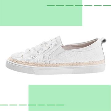 【Robinlo & Co.】Hank White_Flat Shoes,Platform shoes