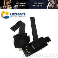 PRO Gravity Grip Weight Lifting Straps With Wrist Support