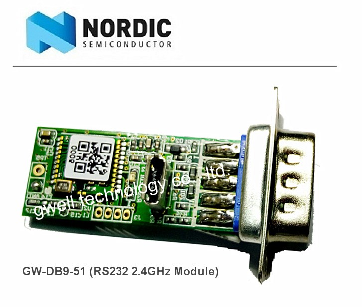 Taiwan Nordic nRF51822 DB9 | GWELL TECHNOLOGY CO , LTD