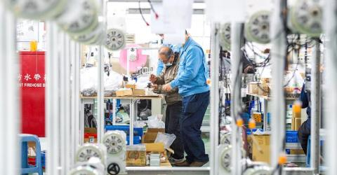 Manufacturing production value to rise 10%: ITRI