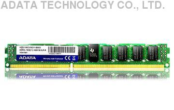 ADATA VLP R-DIMM Memory DDR3L 1600 1.35V 2/4/6/8GB