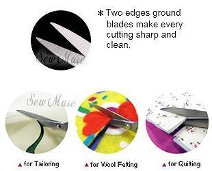 Sew Mate Elegant Tailor Scissors