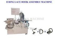 Boot Shoe D Ring Lace Hook Assembly Machine