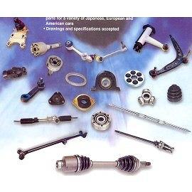CV JOINTS AND SUSPENSION PARTS