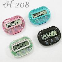 H-208 MINI series Pedometer Calorie Counter (function option) / Manufacture,OEM,ODM