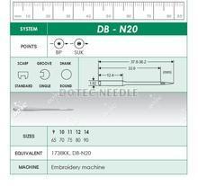 DB-N20 - Embroidery Machine Needle