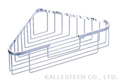 Bathroom stainless steel corner rack