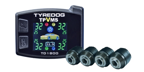TPMS with vibration by TYREDOG