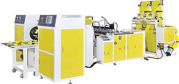 High Speed Fully Automatic 2 Lines coreless Bag on Roll making machine