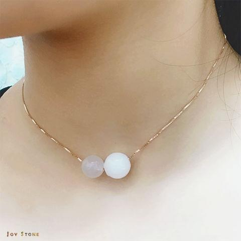 White Chalcedony April Birthstone