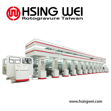 Minimum Wastage Rotogravure Printing Machine