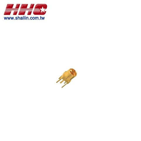 MMCX female PCB mount gold plated