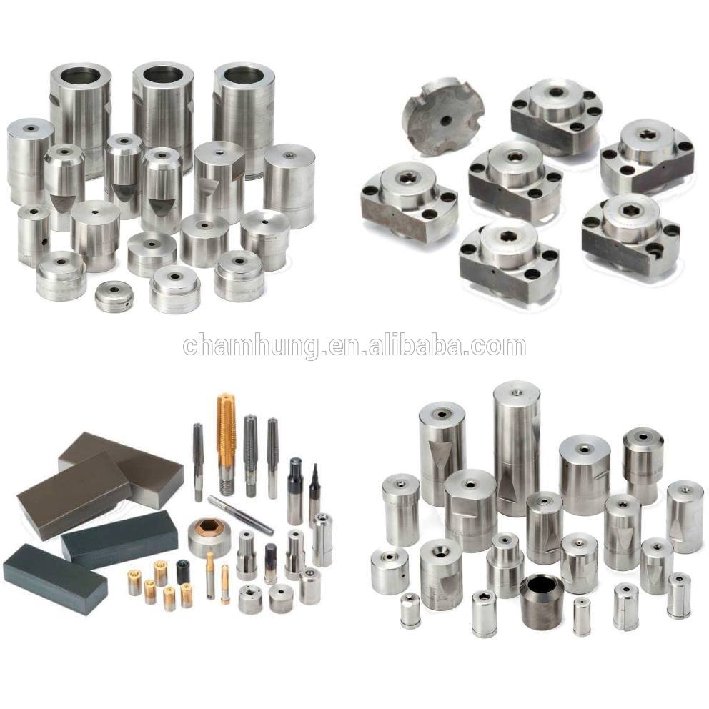 Customized Punch and Die Inserts Manufacturer with any coating, materials