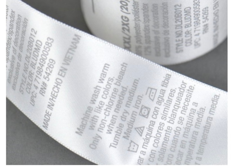 Satin Care Label