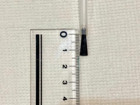 寬形指甲油刷 毛刷柄長32mm