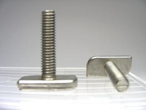 T Bolt , Stainless Steel, Passivated