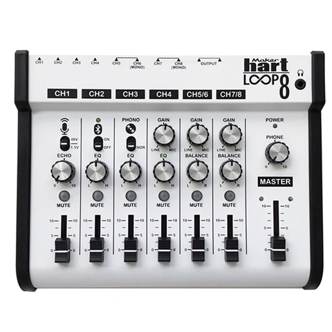 Taiwan Maker hart 120V 8 Channels 3 5 mm Stereo Sound Mixer