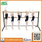 220CM Adjustable Height Freestanding Double Ballet Bar