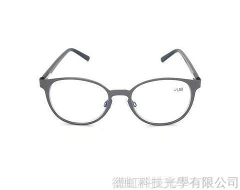 金屬抗藍光/老花閱讀/太陽眼鏡(STB004) 鐵灰