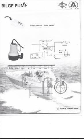 Taiwan Submersible Pump,Automatic and manual bilge pump | Taiwantrade