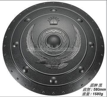 Round Shield -Eagle