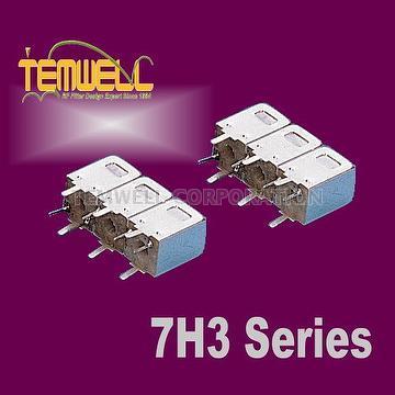 Helical Bandpass Filter- 7H 2 pole Fillter
