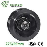 Plastic Blower Wheel For Industrial Centrifugal Fan
