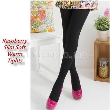 60224cbddebe1 Taiwan Warm Slim Raspberry Down-Like Microfiber Tights Girls Womens ...